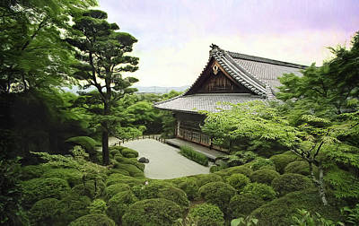 Shisendo Temple - Kyoto Japan Print by Daniel Hagerman