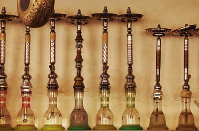 Photograph - Shisha Pipes In An Arab Restaurant by Paul Cowan