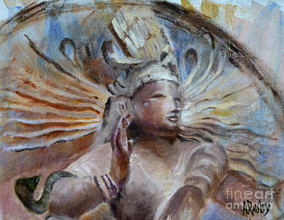 Shiva Dreams In Color Original by Ann Radley