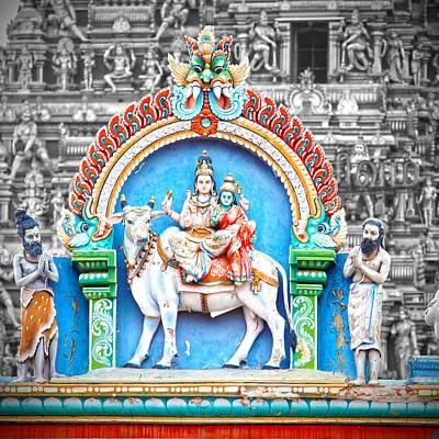 Parvati Photograph - Shiva In Chennai by Karen Anderson