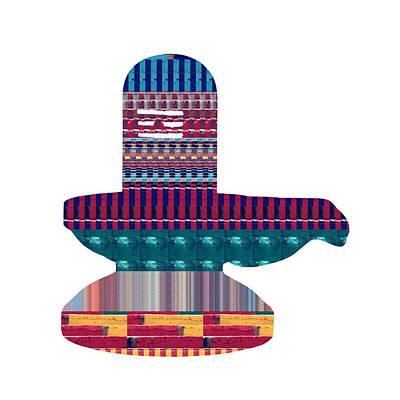 Painting - Shiva Shivlinga Linga Hinduism  Buy Faa Print Products Or Down Load For Self Printing Navin Joshi Ri by Navin Joshi