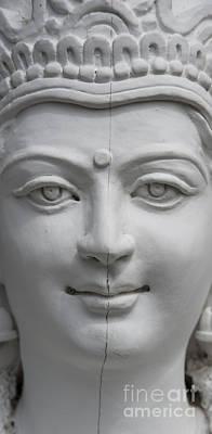 Shiva Shrine, Delhi Art Print by John Shaw