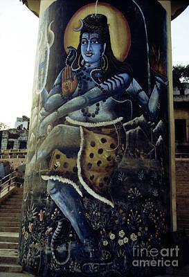 Photograph - Shiva Varanasi India by Scott Shaw