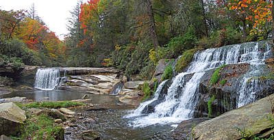 Photograph - Shoal Creek Area Waterfalls by Duane McCullough