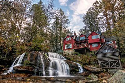 Photograph - Shoal Creek Falls by Dustin Ahrens