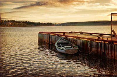 Photograph - Shoal Harbour Sunrise by Leanna Lomanski