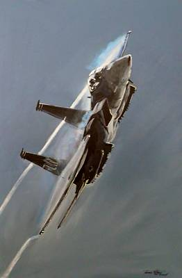 Aviation Painting - Shock by Terence R Rogers