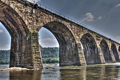 David Jones Photograph - Shocks Mill Bridge by David  Jones