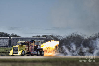 Shockwave Photograph - Shockwave Jet Truck V2 by Douglas Barnard