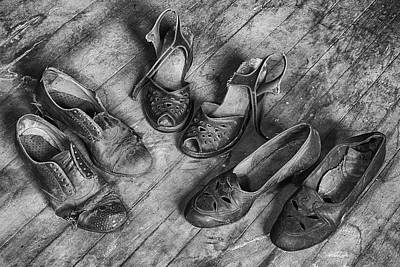 Photograph - Shoe Assortment by Denise Bush
