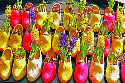 Photograph - Shoe Planters by Elvis Vaughn