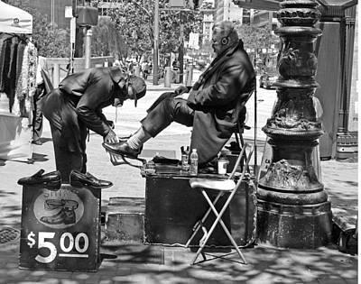 Photograph - San Francisco Street Vendor by Haleh Mahbod