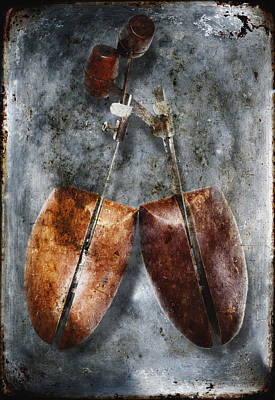 Shoe Trees Art Print by Skip Nall