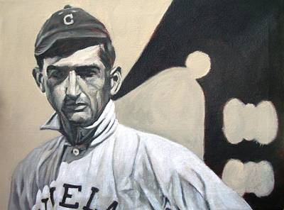 Cleveland Indians Painting - Shoeless Joe by Paul Smutylo