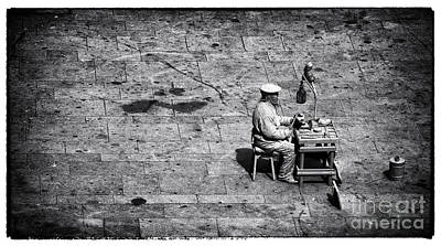 Photograph - Shoemaker by John Rizzuto