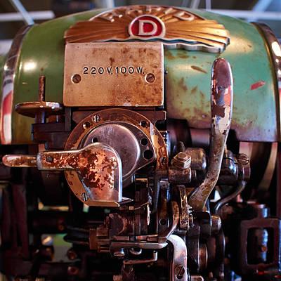 Jouko Lehto Royalty-Free and Rights-Managed Images - Shoemakers dreams The Machine by Jouko Lehto