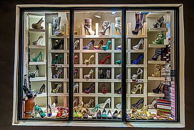 Photograph - Shoes Glorious Shoes by Melinda Ledsome