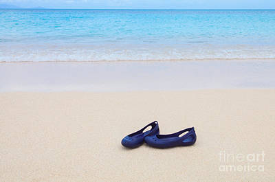 Photograph - Shoes In Paradise by Diane Macdonald