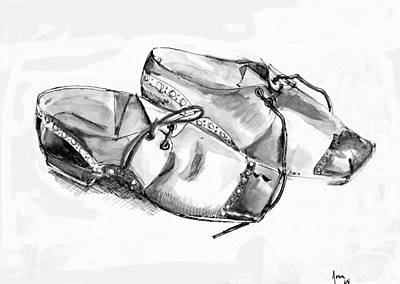 Painting - Shoes by Joan Rossi