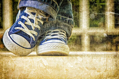 Art Print featuring the photograph Shoes by Linda Blair