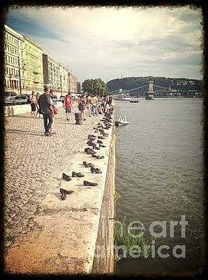 Photograph - Shoes Of Jews Killed In Danube River by John Potts