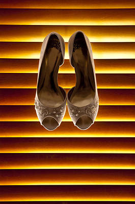 Photograph - Shoes On A Blind by Mick House