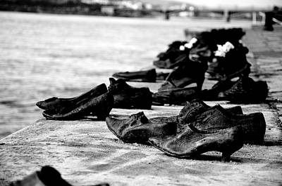 Photograph - Shoes On The Danube by Catherine Murton