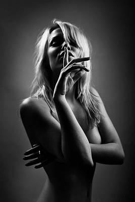 Quiet Photograph - Shoosh by Oren Hayman