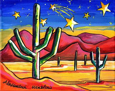 Painting - Shooting Star by Alexandria Winslow