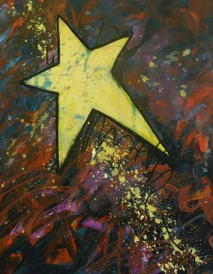 Shooting Star Art Print