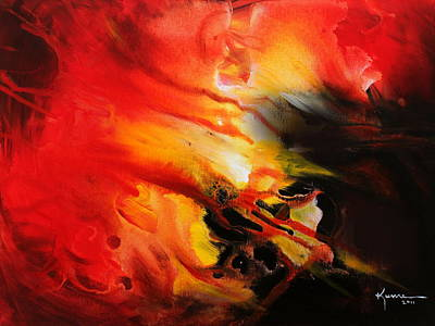 Art Print featuring the painting Shooting Star by Kume Bryant