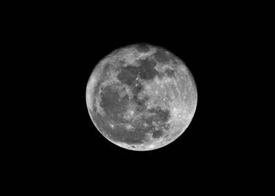 Photograph - Shooting The Moon by Willard Killough III
