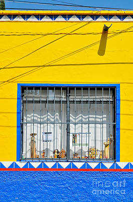 Photograph - Shop Window - Mexico - Photograph By David Perry Lawrence by David Perry Lawrence