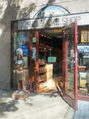 Photograph - Shopfronts - Smoke Shop by Susan Savad