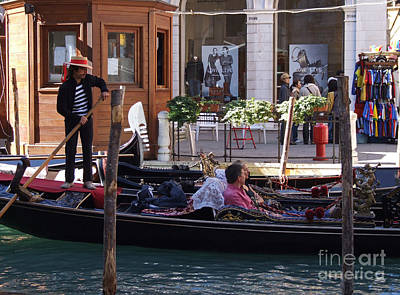 Photograph - Shopping By Gondola by Phil Banks