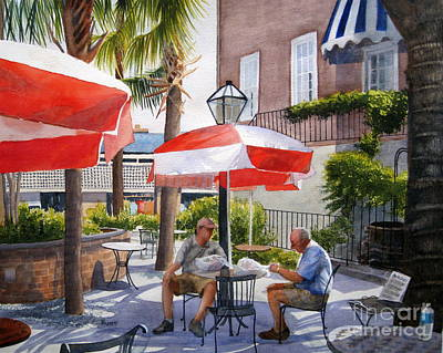 Painting - Shopping Charleston by Shirley Braithwaite Hunt