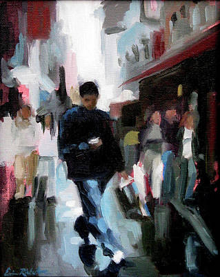 Painting - Shopping District by Erin Rickelton