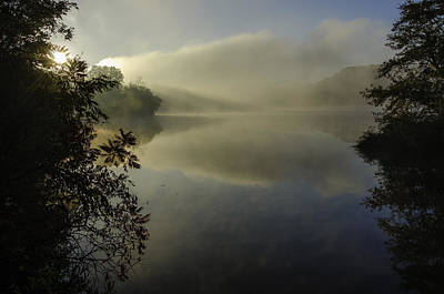 Radnor Lake Photograph - Shore Of Dawn by LeAnne Thomas