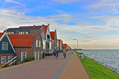 Photograph - Shore Of Ijssemeer by Elvis Vaughn