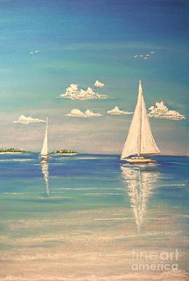 Painting - The Cays by The Beach  Dreamer