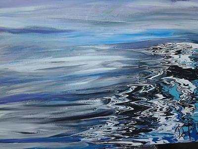 Shore On The Sea Of Dreams Art Print