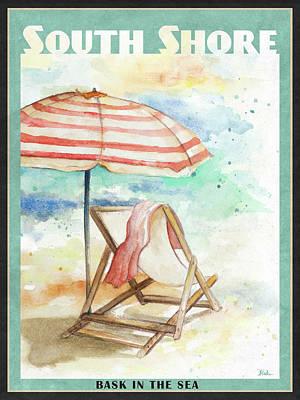 Shore Digital Art - Shore Poster I by Patricia Pinto