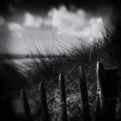 Running Wall Art - Photograph - Shore Runner by Luc Vangindertael (lagrange)