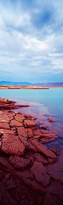 Mead Photograph - Shore Waters, Lake Mead, Nevada, Usa by Panoramic Images