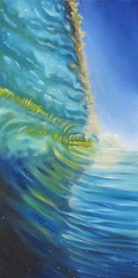 Painting - Shorebreak by Olivier Longuet