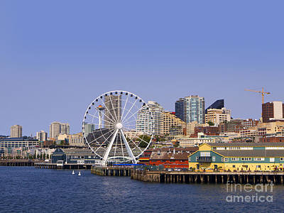 Photograph - Shoreline Of Seattle by Brenda Kean
