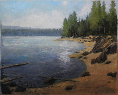Painting - Shoreline by Shanna Kunz