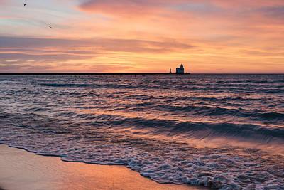 Photograph - Shoreline Stroll by Bill Pevlor