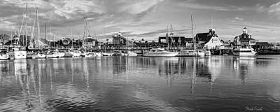 Photograph - Shoreline Village Monochrome  by Heidi Smith
