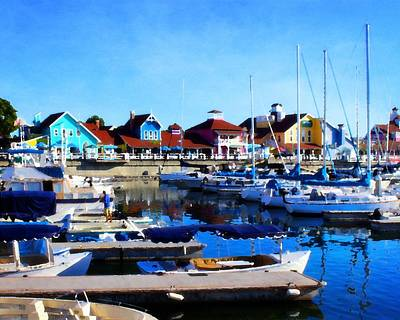 Photograph - Shoreline Village by Timothy Bulone
